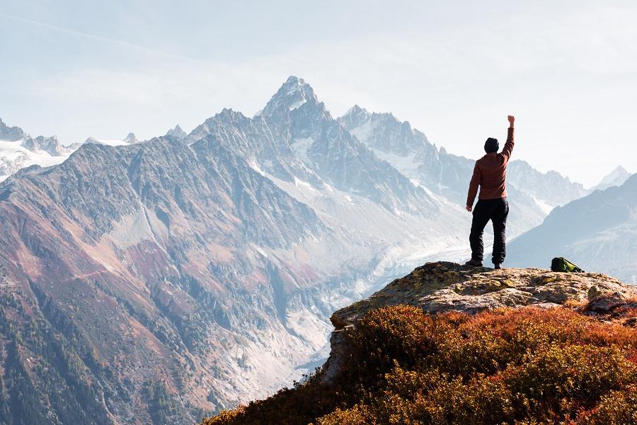 Les bienfaits de l'alpinisme